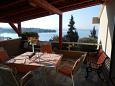Taras 1 - Apartament A-6093-a - Apartamenty Seget Vranjica (Trogir) - 6093