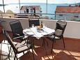 Terrace 1 - House K-6115 - Vacation Rentals Seget Vranjica (Trogir) - 6115