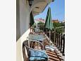 Balcony 2 - Apartment A-6128-d - Apartments Zadar (Zadar) - 6128