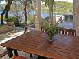 Terrace - Apartment A-613-b - Apartments Polače (Mljet) - 613