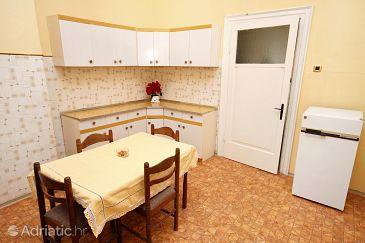 Šibenik, Dining room u smještaju tipa apartment.
