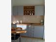 Kitchen - Studio flat AS-6164-b - Apartments Sukošan (Zadar) - 6164