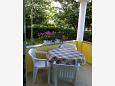 Terrace - Studio flat AS-6164-b - Apartments Sukošan (Zadar) - 6164
