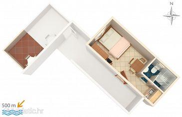 Studio flat AS-6178-e - Apartments Vodice (Vodice) - 6178
