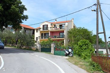 Property Vodice (Vodice) - Accommodation 6181 - Apartments with pebble beach.