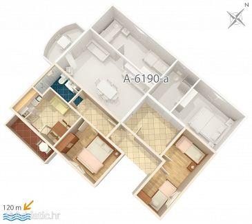 Apartment A-6190-b - Apartments Posedarje (Novigrad) - 6190