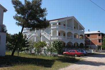 Property Biograd na Moru (Biograd) - Accommodation 6227 - Apartments with sandy beach.
