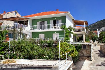 Property Hvar (Hvar) - Accommodation 624 - Apartments with pebble beach.