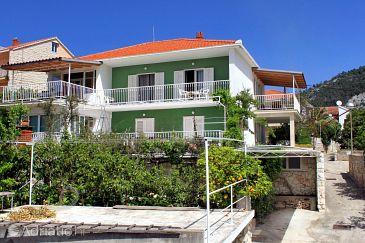 Hvar, Hvar, Property 624 - Apartments with pebble beach.