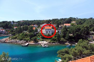 Property Basina (Hvar) - Accommodation 625 - Apartments near sea.