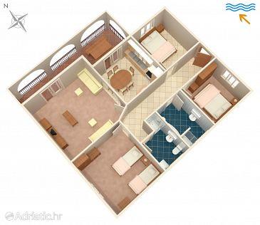 Apartment A-627-e - Apartments Prigradica (Korčula) - 627