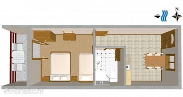 Apartment A-628-b - Apartments Prapratno (Pelješac) - 628