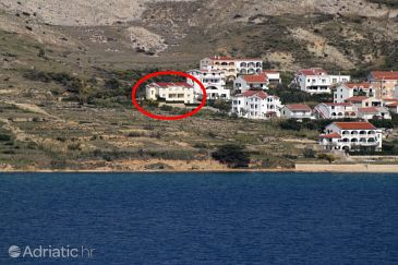 Property Pag (Pag) - Accommodation 6291 - Apartments with pebble beach.