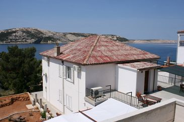 Property Stara Novalja (Pag) - Accommodation 6303 - Apartments and Rooms near sea with sandy beach.
