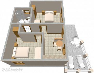 Apartment A-631-a - Apartments Podobuče (Pelješac) - 631