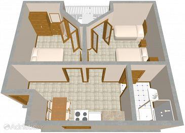 Apartment A-631-b - Apartments Podobuče (Pelješac) - 631