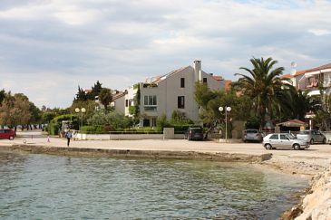 Obiekt Zadar - Diklo (Zadar) - Zakwaterowanie 6333 - Apartamenty blisko morza ze żwirową plażą.