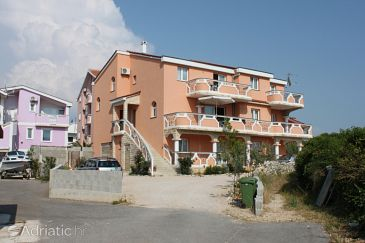Property Novalja (Pag) - Accommodation 6345 - Apartments with pebble beach.