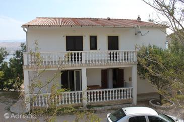 Property Pag (Pag) - Accommodation 6349 - Apartments near sea with sandy beach.