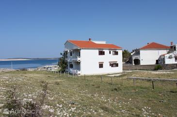 Property Kustići (Pag) - Accommodation 6353 - Apartments near sea with pebble beach.