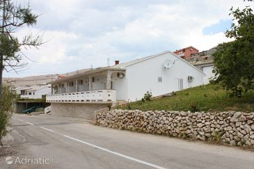 Property Zubovići (Pag) - Accommodation 6357 - Apartments and Rooms with pebble beach.