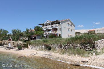 Vidalići, Pag, Property 6359 - Apartments blizu mora with pebble beach.