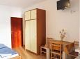 Metajna, Bedroom u smještaju tipa studio-apartment, WIFI.