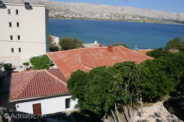 Property Pag (Pag) - Accommodation 6381 - Apartments near sea with pebble beach.