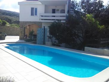 Property Pag (Pag) - Accommodation 6384 - Apartments near sea with pebble beach.