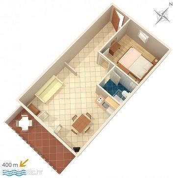 Apartment A-639-c - Apartments Mokalo (Pelješac) - 639