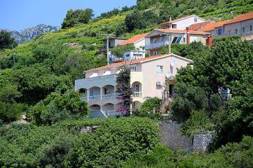 Obiekt Mokalo (Pelješac) - Zakwaterowanie 639 - Apartamenty ze żwirową plażą.