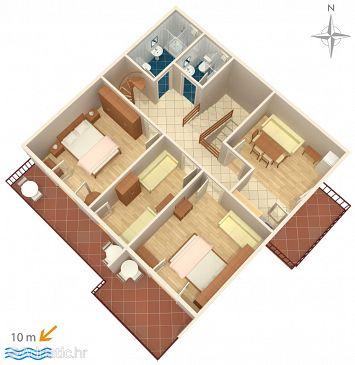Apartment A-6390-a - Apartments Stara Novalja (Pag) - 6390