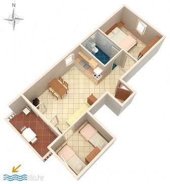 Apartment A-6405-a - Apartments Mandre (Pag) - 6405