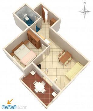 Apartment A-6405-b - Apartments Mandre (Pag) - 6405