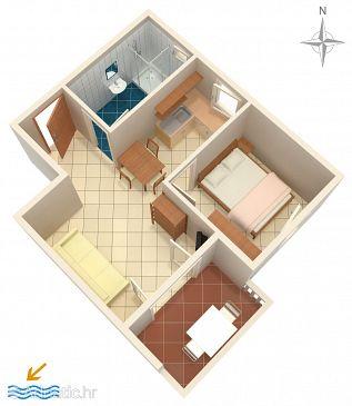 Apartment A-6405-c - Apartments Mandre (Pag) - 6405