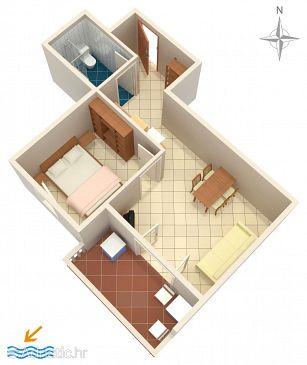 Apartment A-6405-e - Apartments Mandre (Pag) - 6405