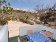 Metajna, Terrace u smještaju tipa apartment, dopusteni kucni ljubimci.