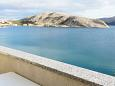 Balcony - view - Studio flat AS-6425-d - Apartments Metajna (Pag) - 6425