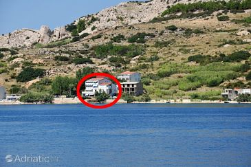 Property Metajna (Pag) - Accommodation 6425 - Apartments near sea.
