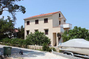 Novalja, Pag, Property 6451 - Apartments with pebble beach.