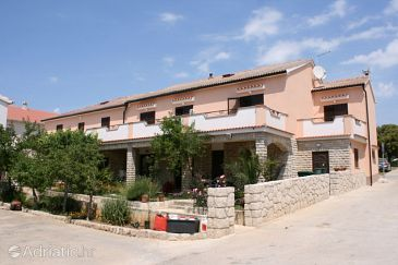 Property Mandre (Pag) - Accommodation 6457 - Apartments near sea with pebble beach.