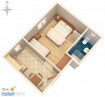 Studio flat AS-6469-a - Apartments Stara Novalja (Pag) - 6469