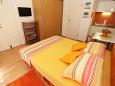 Bedroom - Studio flat AS-6475-a - Apartments Pag (Pag) - 6475