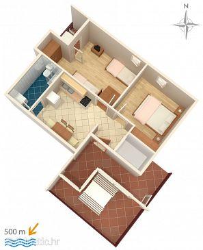 Apartment A-6478-b - Apartments Bilo (Primošten) - 6478