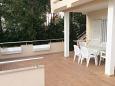 Novalja, Terrace u smještaju tipa apartment, dopusteni kucni ljubimci i WIFI.