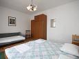 Metajna, Bedroom u smještaju tipa apartment, dostupna klima.