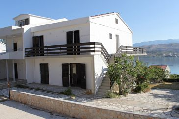 Property Pag (Pag) - Accommodation 6529 - Apartments with pebble beach.