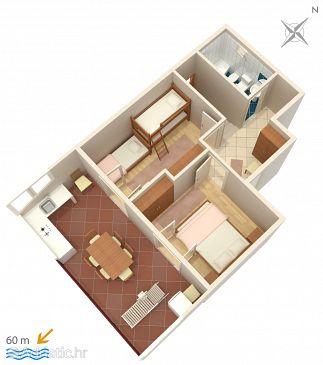 Apartment A-653-a - Apartments Marušići (Omiš) - 653