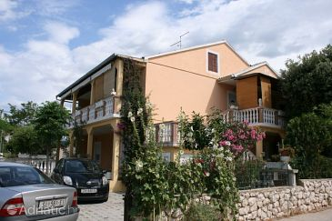 Property Šimuni (Pag) - Accommodation 6538 - Apartments with pebble beach.