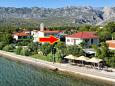 Property Seline (Paklenica) - Accommodation 6544 - Apartments near sea with pebble beach.